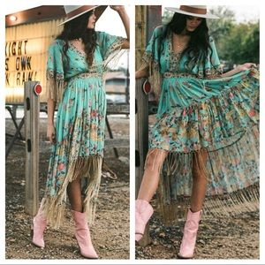 Spell And The Gypsy Hendrix Tassel Dress